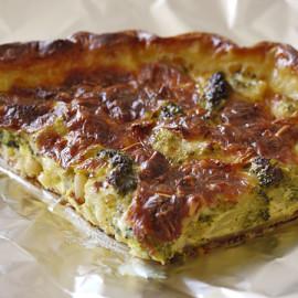 Брокколи в духовке с сыром