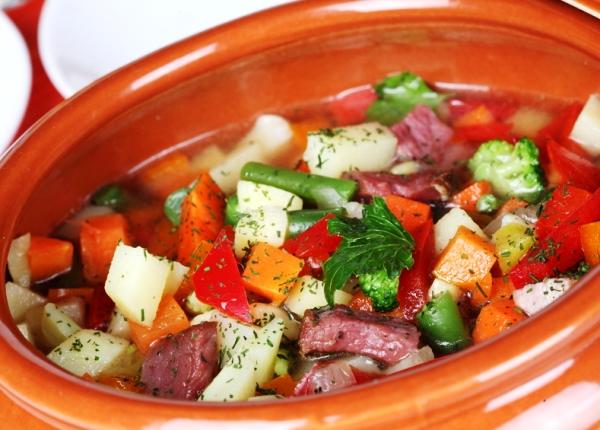 Телятина с овощами в горшочке в духовке рецепты
