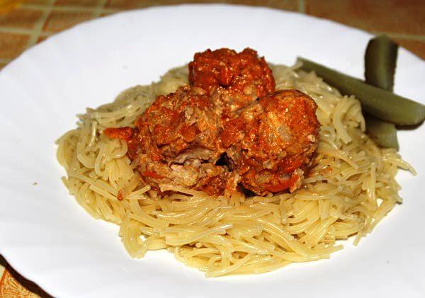 диетические тефтели с рисом в духовке рецепт