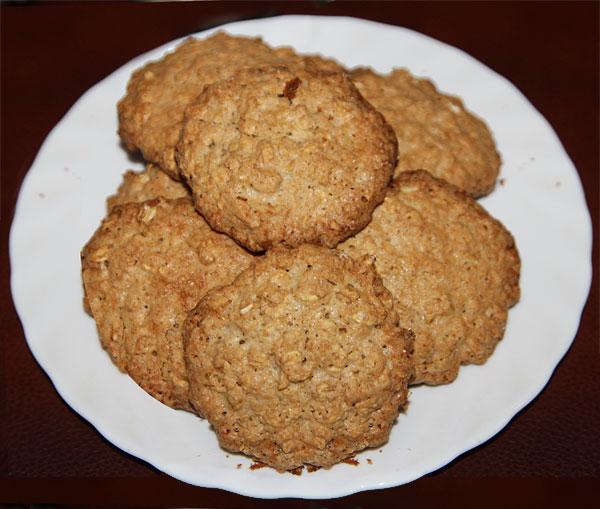 Домашнее овсяное печенье: рецепт приготовления с простой пошаговой инструкцией
