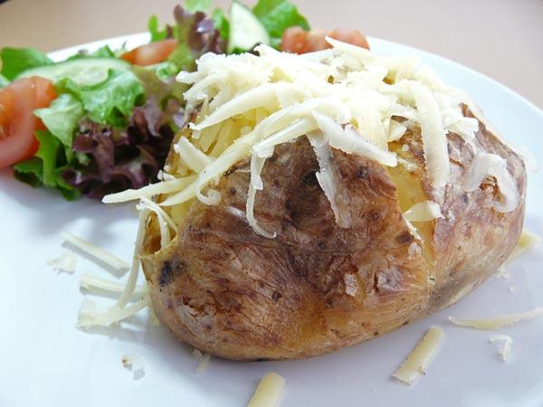 картошка в духовке с сыром простой рецепт