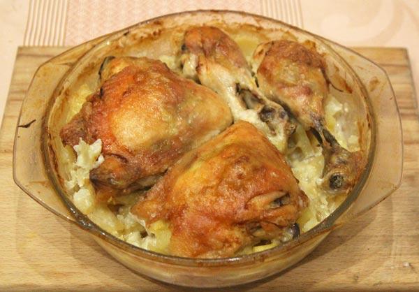 фаршированная курица в духовке с начинкой рецепты