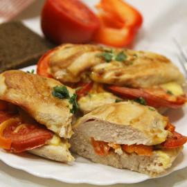 Филе куриное с овощами
