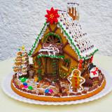 Новогодние пряничные домики фото