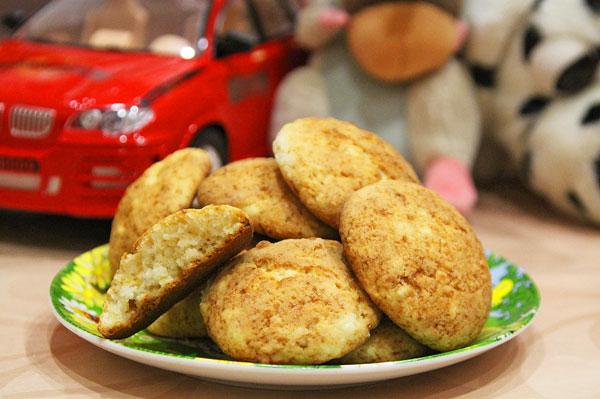 Творожное печенье простой рецепт