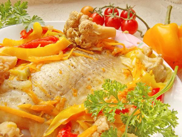 Морской окунь запеченный в духовке