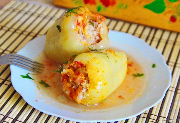 рецепт кабачки и перец в духовке