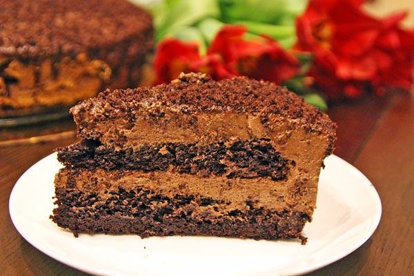 Баварский шоколадный торт рецепт
